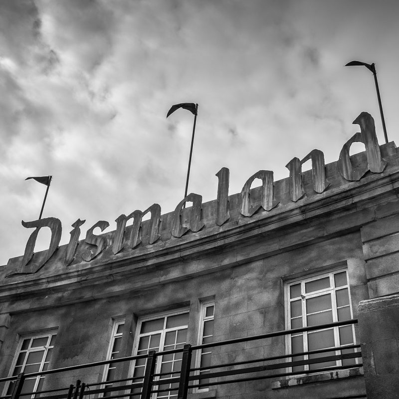 """A """"Dismal"""" Parody of Disneyland - Unexpected Installation by Modern Artists"""