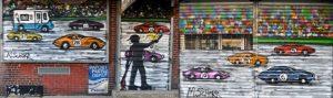 3D murals Da Race