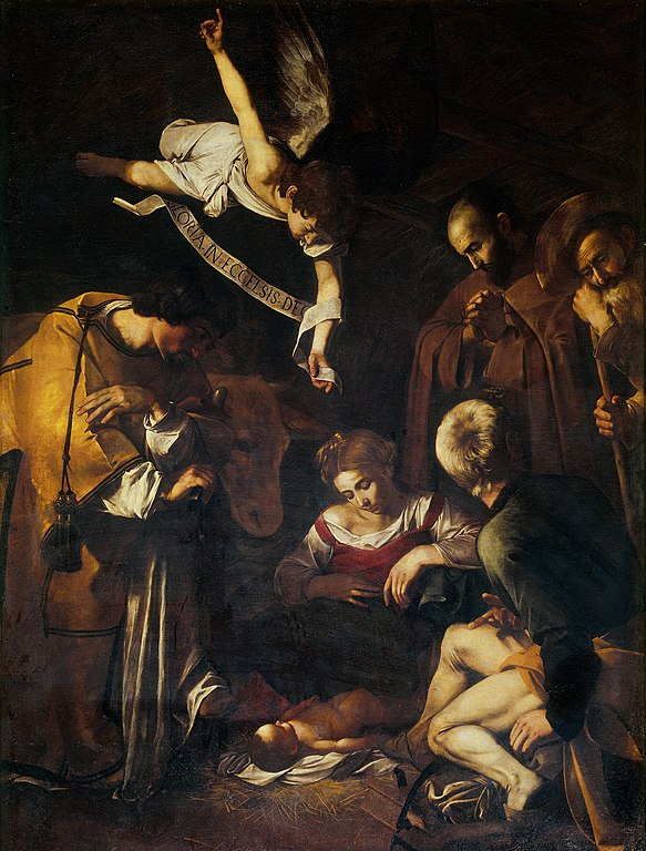 Nativity with St. Francis and St. Lawrence(1609)