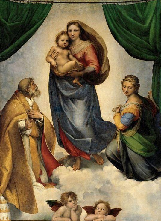 Sistine Madonna(1512)