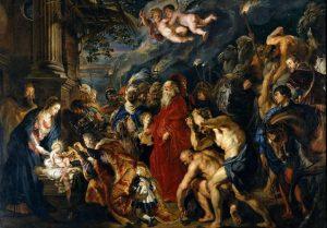 Adoration of the Magi(1609-1610)