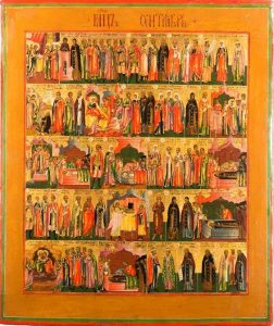 the collectors of religious icon art