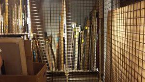 Canvas Art Storage Solutions