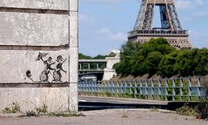 Banksy Murals Appeared