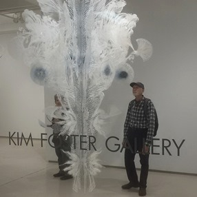 Art transportation services; Kim Foster Gallery