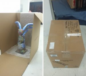 Art Packaging and Shipping Service; Art d'Aurelle