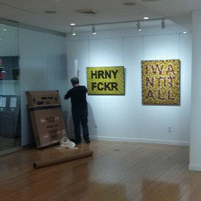 How to Ship a Painting to the Art Gallery