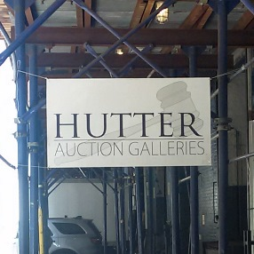 Antique furniture shipping; Hutter Auction Galleries