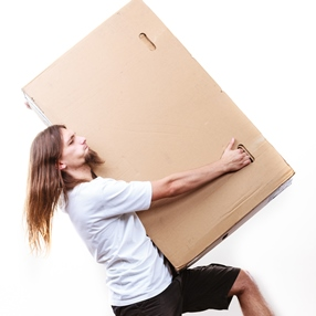 Shipping big packages