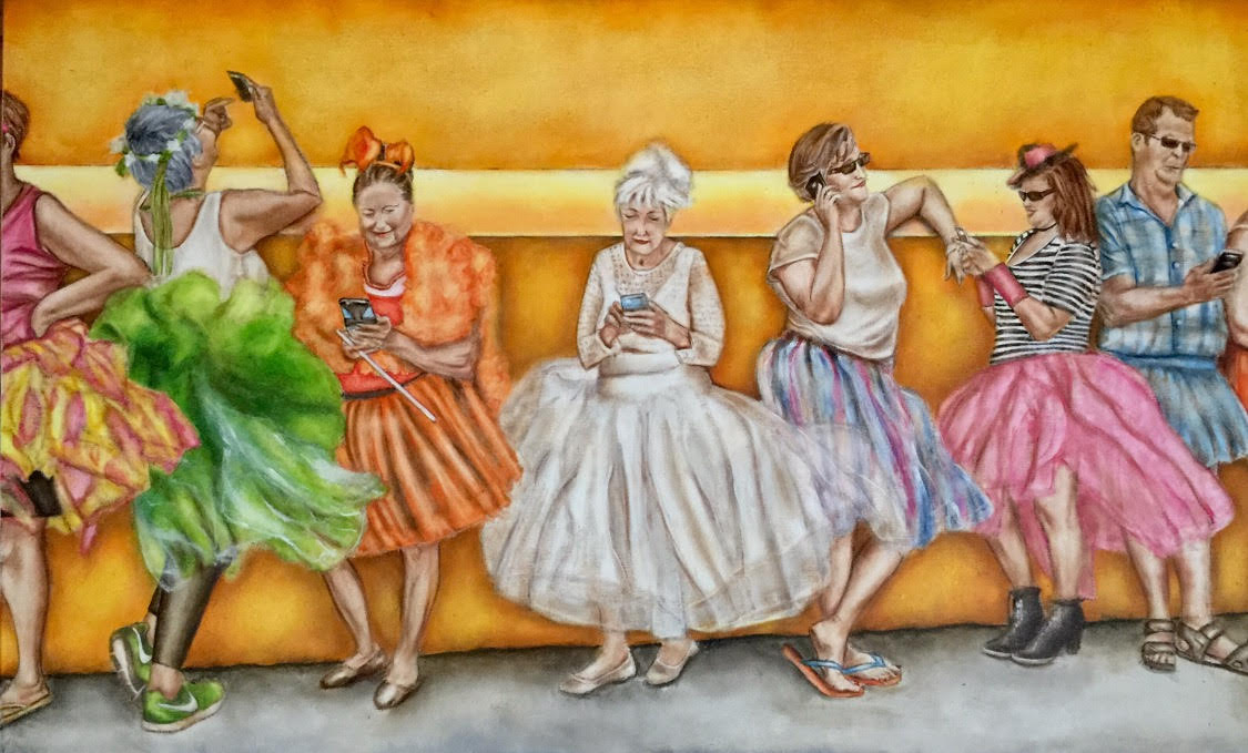 Painting shipping services; Diana Leviton Gondek