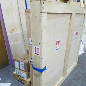 How to ship paintings
