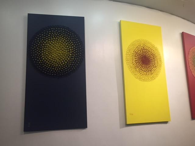 "Art installation; ""Birth of an Idea"" Exhibition"