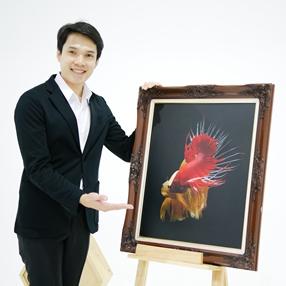 Shipping framed art