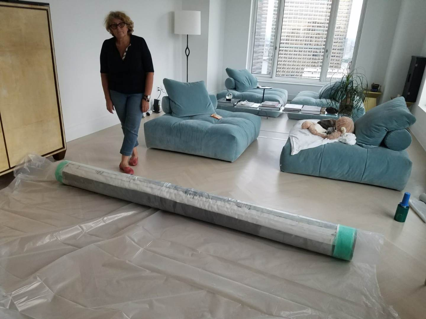 How to ship large paintings
