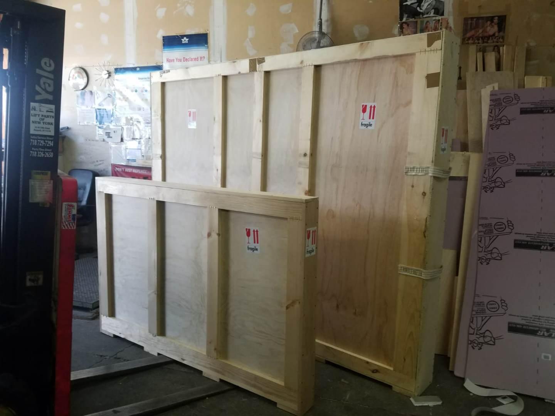 fine art crates