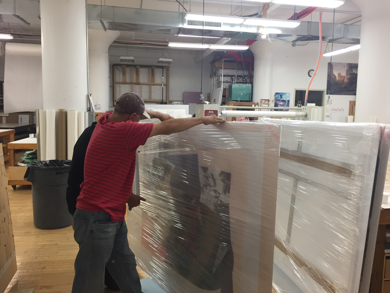 How to ship art prints