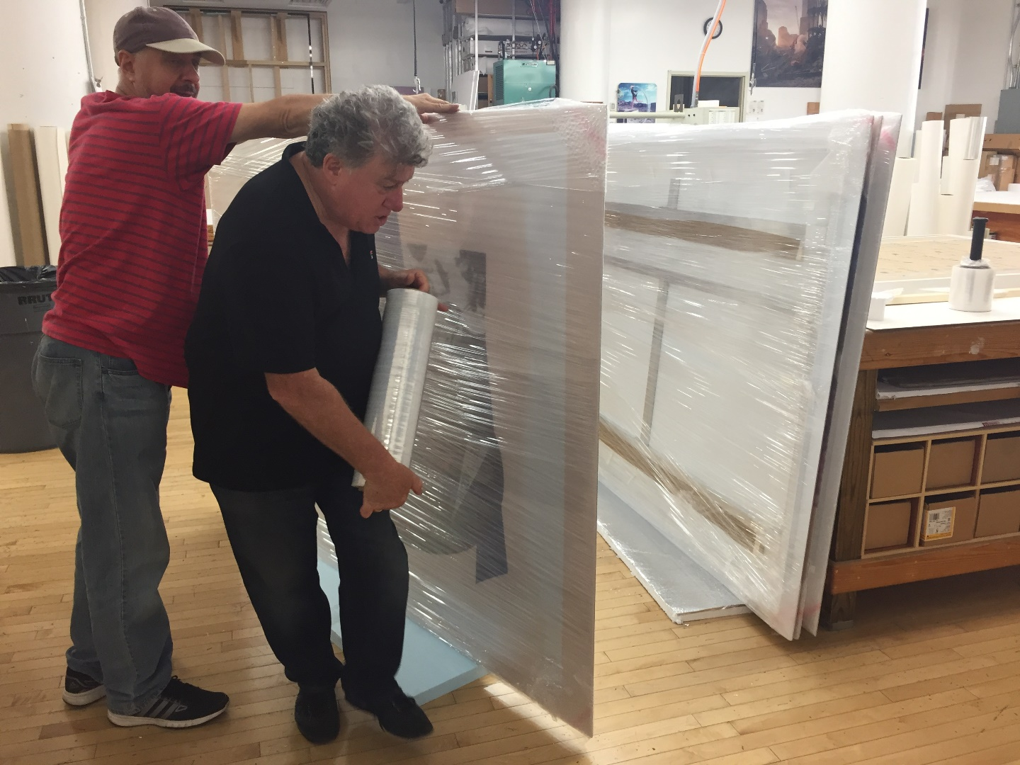 How to ship art prints