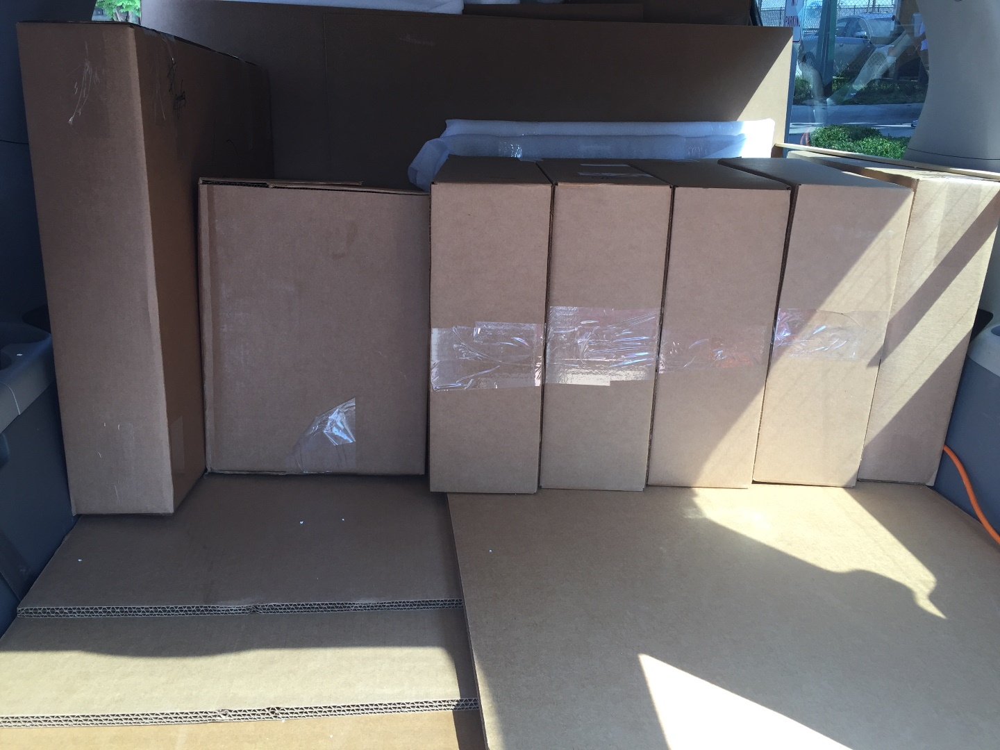 Shipping Items Cross Country