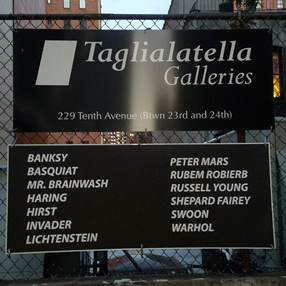 Gallery framing; Taglialatella Galleries