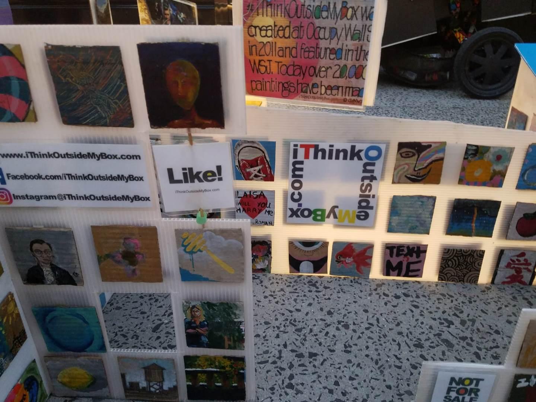 Art crating and shipping company; #iThinkOutsideMyBox