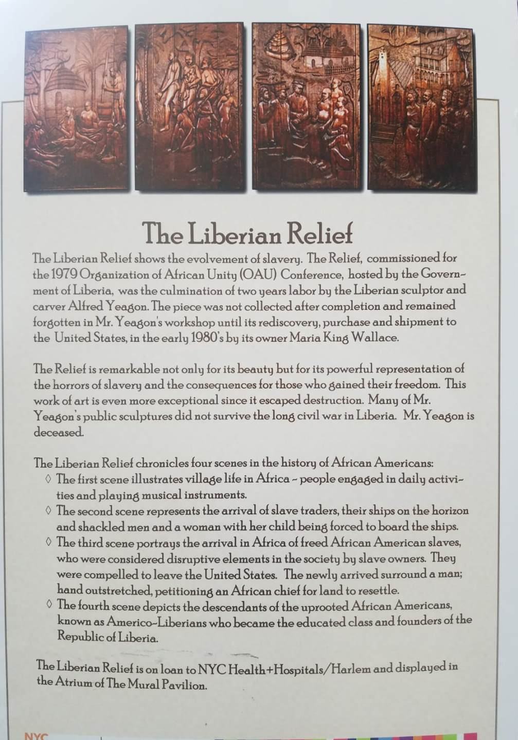 Oversize shipping; The Liberian Relief