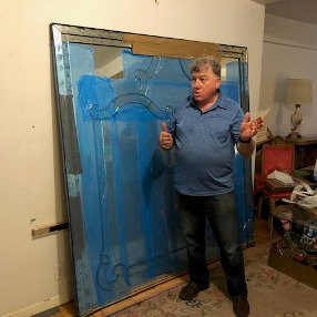 How to ship framed art and antique mirrors
