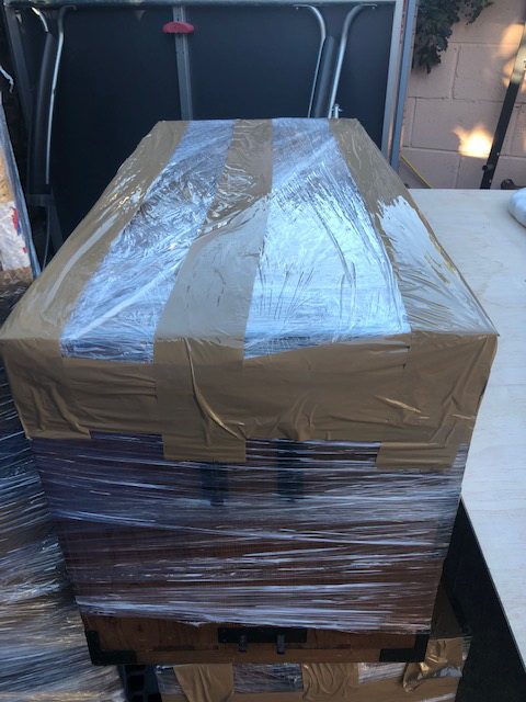 Packing services for shipping art
