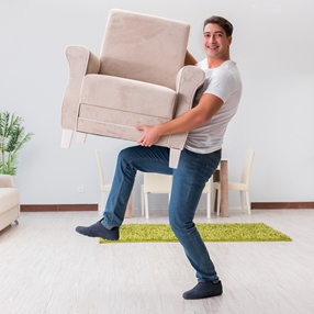 Shipping chairs