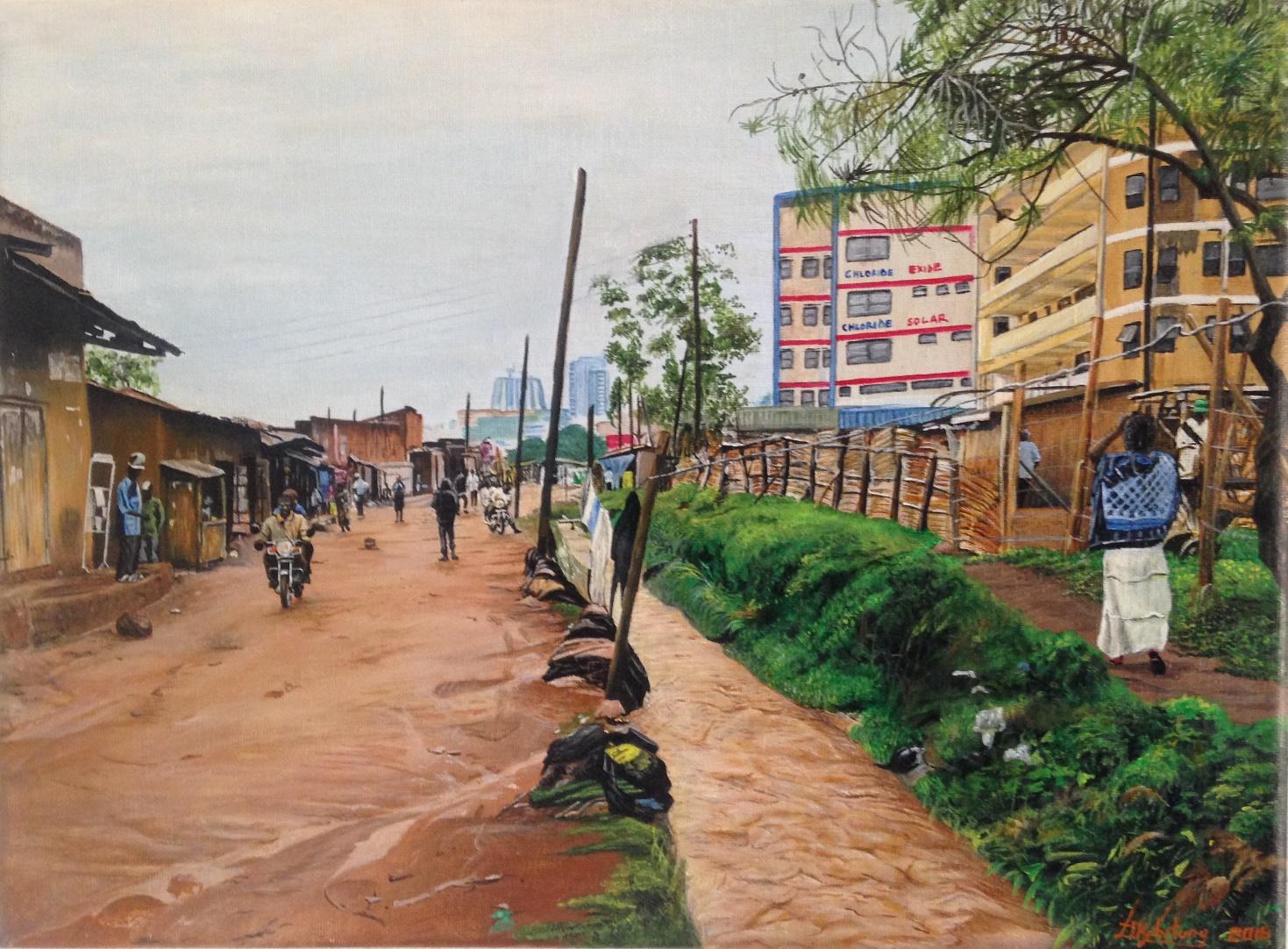 Art storage; Joshua Kabitanya