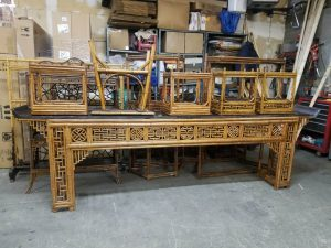 Shipping antique furniture