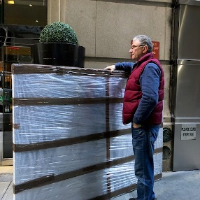 How to ship a large painting in New York