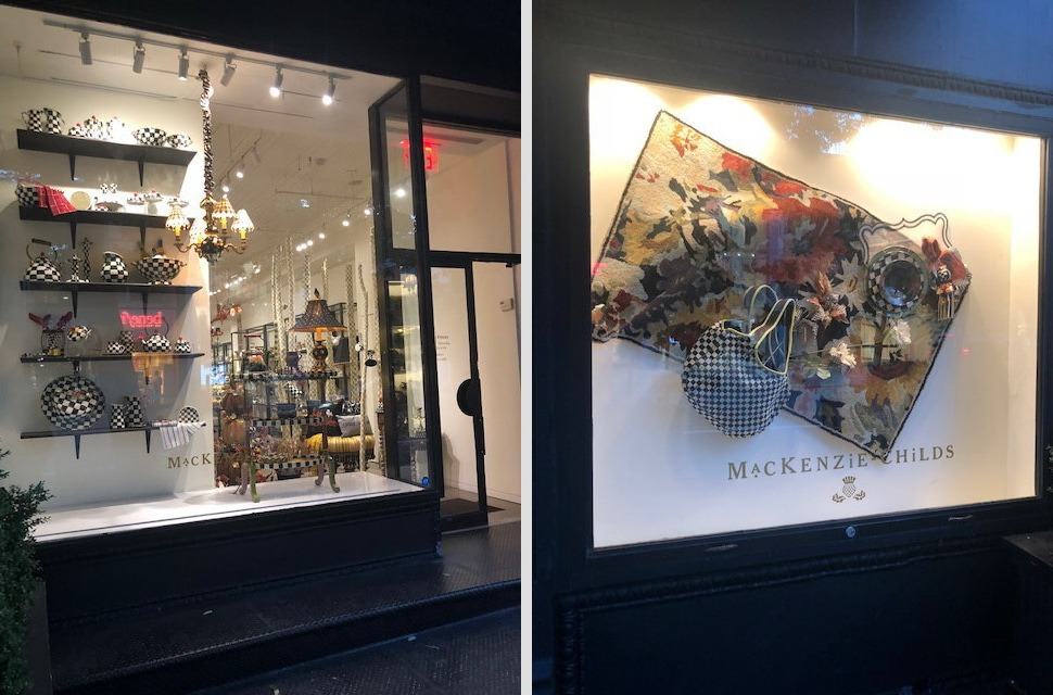 Affordable artwork in NYC; MacKenzie-Childs