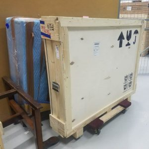 Art shipping crate