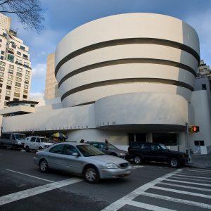 High art in NYC; Solomon R. Guggenheim Museum