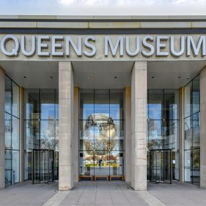 Local shipping company; The Queens Museum