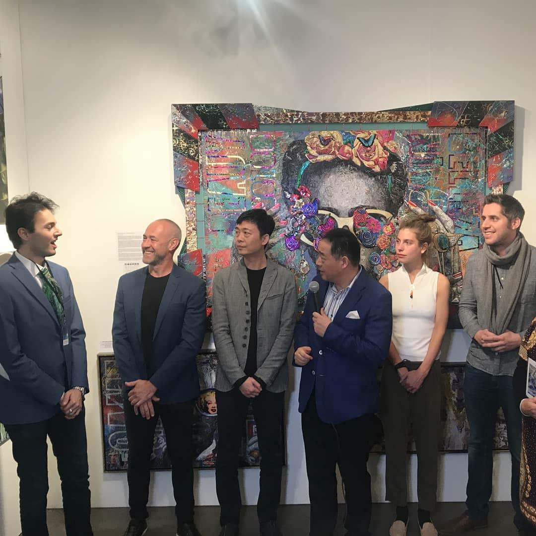 LA Art Show 2019; Brayden Bugazzi