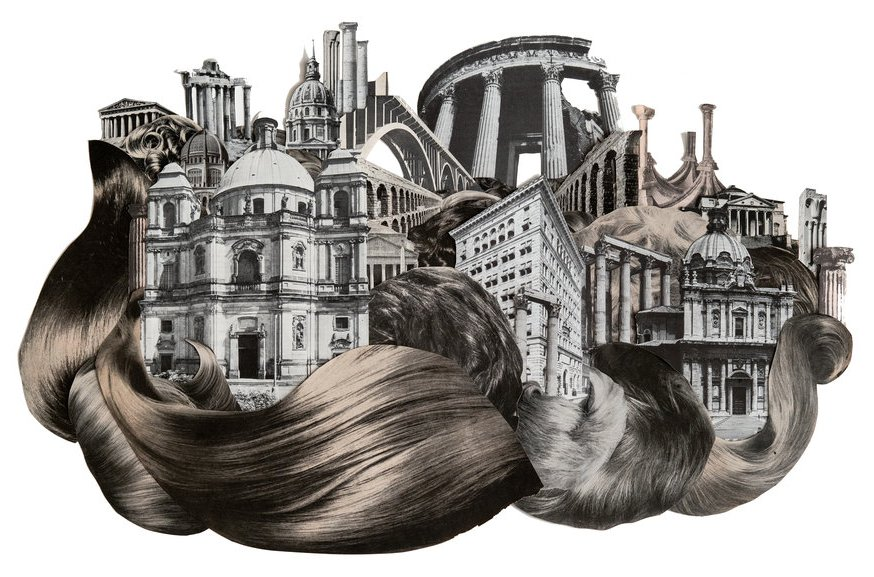 The Amazing Collage Art by Morgan Jesse Lappin
