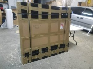 Packing art for shipping