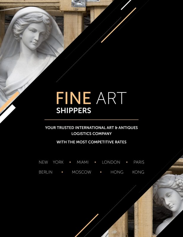 Brochure Fine Art Shippers