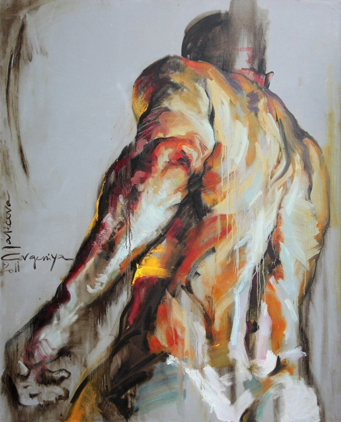 Figurative Expressionist Art by Evgeniya Maltseva
