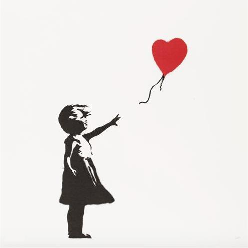 Banksy Artworks at Woodbury House in London