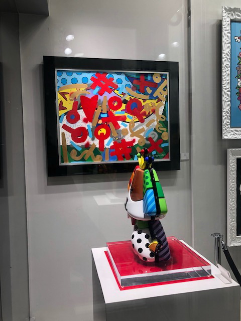 Romero Britto Art & Miami Beach Gallery