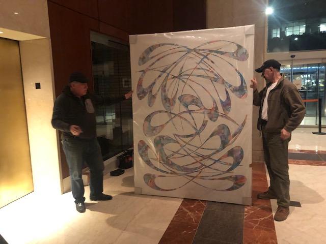 Large Art Installations in NYC: Works by Vladimir Nazarov