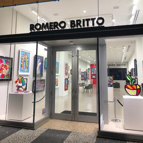 Romero Britto Art & Miami Beach Gallery