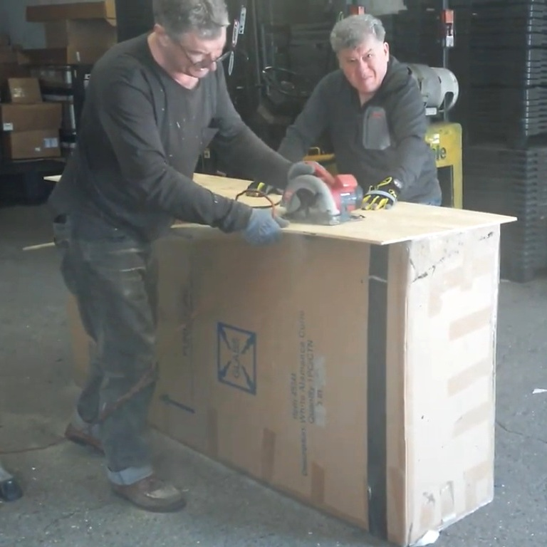 Professional Fine Art Packing and Crating