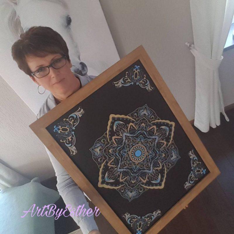 Mandala Art by Esther van der Graaf