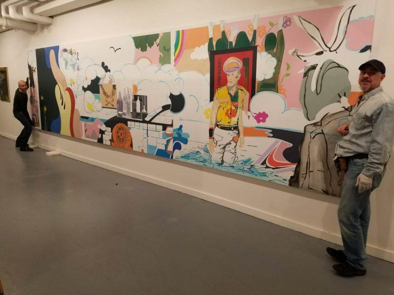 Fine Art Handling and Installation Work for Phillips New York