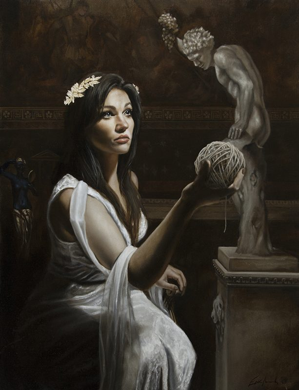 Classical Figurative Art by Eric Armusik