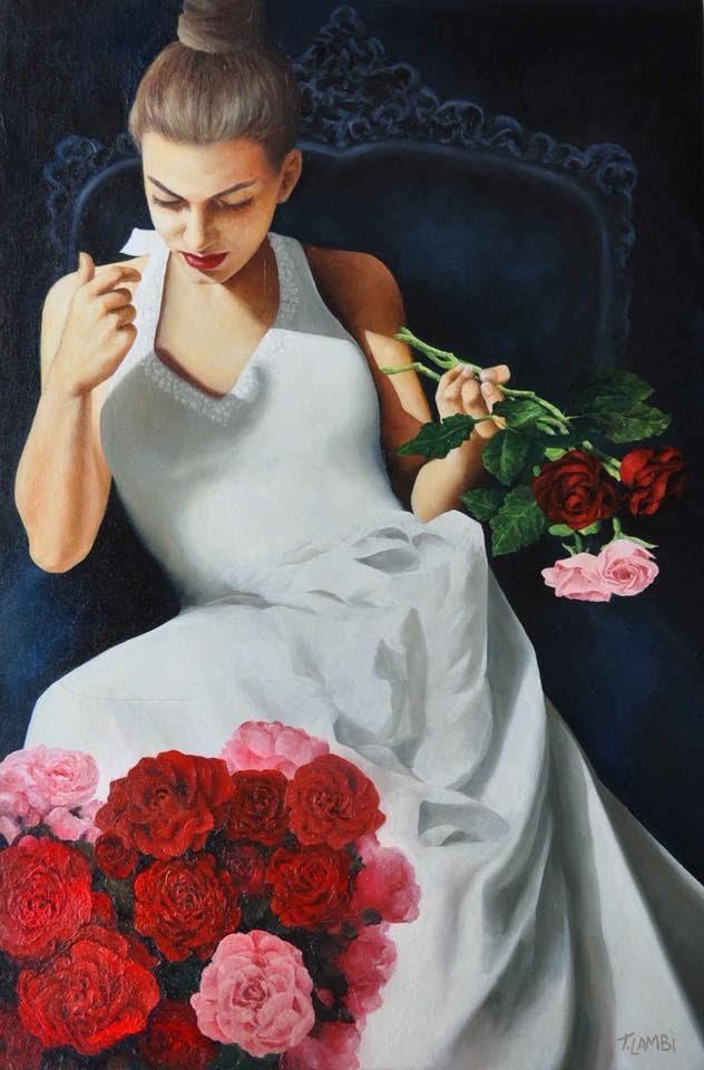 Bold and Lavish Oil Paintings by Trisha Lambi