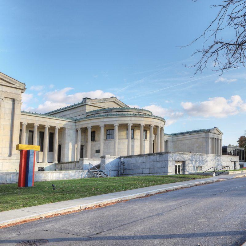 The Albright-Knox Art Gallery in Buffalo, NY